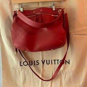 Authentic Louis Vuitton Cerise Spontini bag
